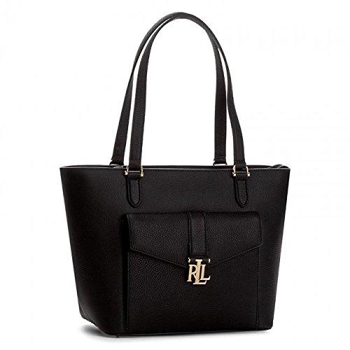 Ralph Lauren Evonne Shopper - Black