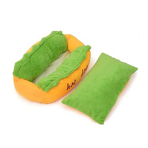 Yhwygg Cama Perro Hot Dog Dog Cat Bed Camas Mascotas