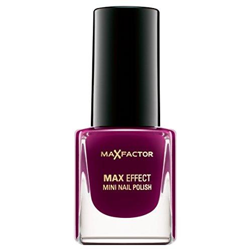 Max Factor Max Effect Mini Nail Polish 24 Intense Plum, 1er Pack (1 x 5 ml) -