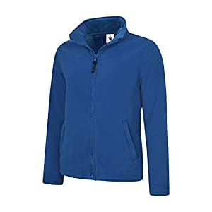 418sOzvc2VL. SS300  - UC608 - Ladies Classic Full Zip Fleece Jacket (300 GSM) - Royal - XX Large