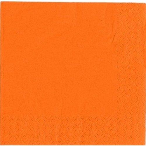 Salida Thali–125x naranja 2capas 33cm 4doblar servilletas de papel Tejido servilletas para cumpleaños bodas fiestas todas las ocasiones