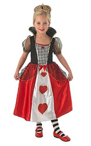 Imagen de reina de corazones  niños disfraz  pequeño  104cm