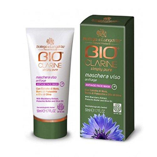 Bottega Di LungaVita Bioclarin Simply Pure Maschera Viso Antiage 50 ml