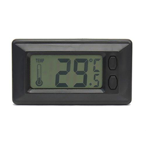 Beito superdünn Fahrzeug Thermometer Home Thermometer leicht Installation Knopf Akku