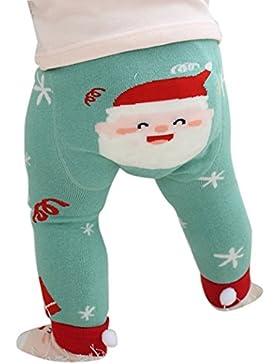 mioim Baby Butt Thermo-Strumpfhose Kinder Jungen Mädchen Leggings Hose Strumpfhosen Winter Baumwolle Pants mit...