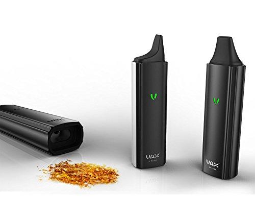 Vax mini ® - Vaporizer für trockene Kräuter, portabler Verdampfer (Schwarz) mit USB