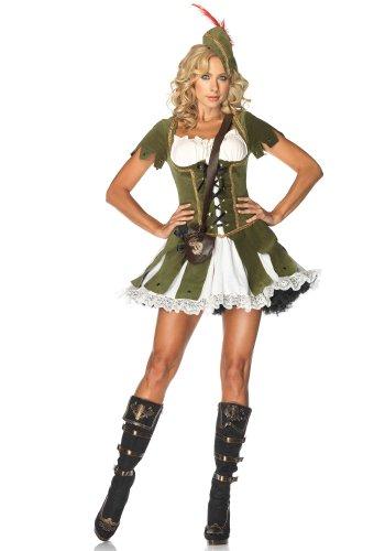 Leg Avenue - Costume da Robin Hood, Donna, Taglia: M/L