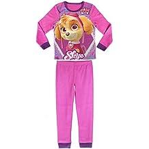 PAW PATROL SKYE pijama polar manga larga 2 piezas Rosa para niña