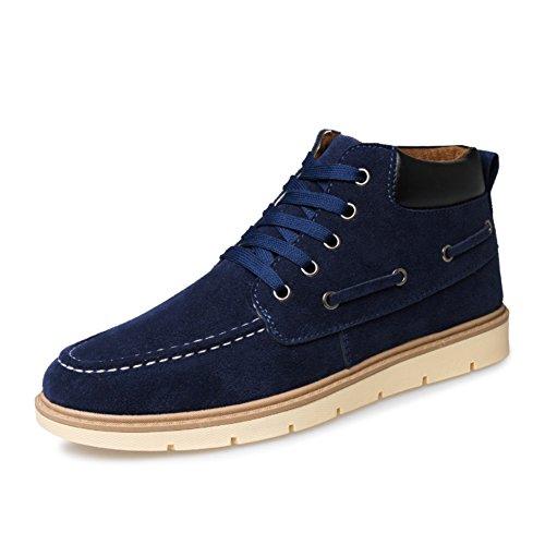 Scarpe di alta moda per lautunno/inverno/Scarpe onda selvaggia/Scarpe sportive anti-scivolo B