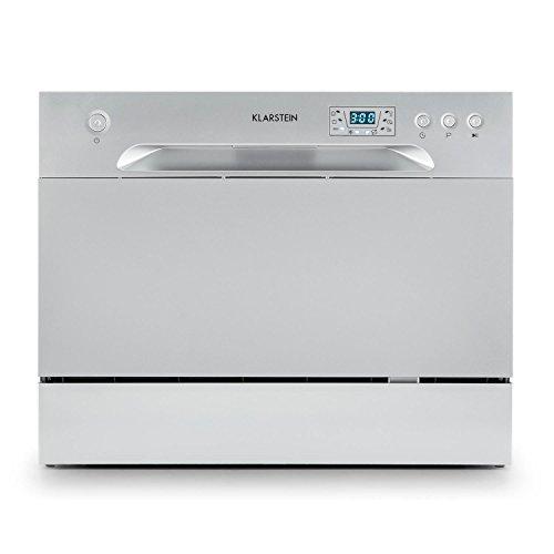 Klarstein Amazonia 6 • Lave-vaisselle de table • A+ •1380W • 6 couverts • 49 dB •argent