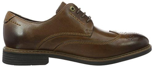 Rockport Cb Wing Tip, Brogues Homme Braun (dk Brown Lea)