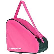 Ultrasport Borsa Inliner, Leggera Skate Bag per Pattini a Rotelle e in Linea, Adatta Anche come Borsa per Pattini da Ghiaccio, Rosa, 26 litri