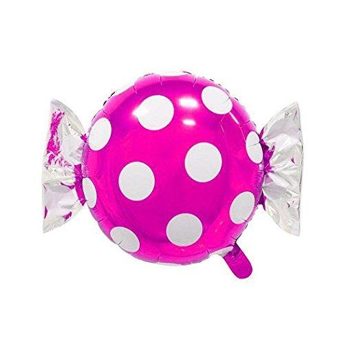 Murieo Einzigartige Party Ballons,Emoji Party Ballons Party Dekorative für Partys, Geburtstage, Hochzeiten, Feiertage und Besondere Anlässe (Rose Rote Punkte(62 x 46 cm) (Ballon Roter Emoji)