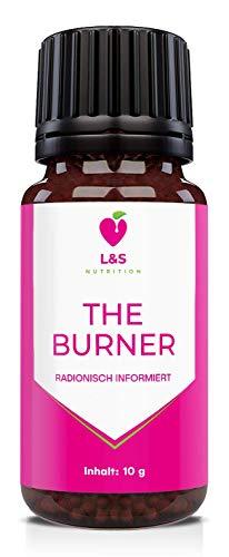 The Burner Globuli | radionisch informiert | Abnehmen leicht gemacht | Fatburner | 10g | (KEIN HCG...