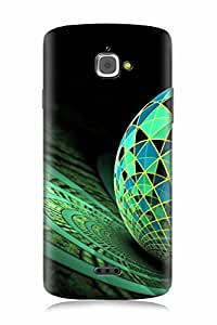 FABCASE Premium marple texture applied on globe ceremic tiles Printed Hard Plastic Back Case Cover for InFocus M350