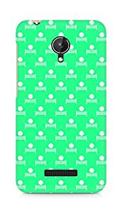 Amez designer printed 3d premium high quality back case cover for Micromax Canvas Spark Q380 (Volleyball Pattern1)
