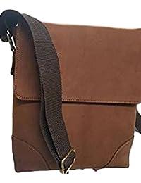 Tie Enterprise Leather Sling Bag Brown Color