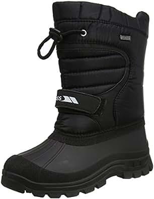 Trespass Dodo, Unisex Kids Snow Boots, Black (Black), 4 (37 EU)