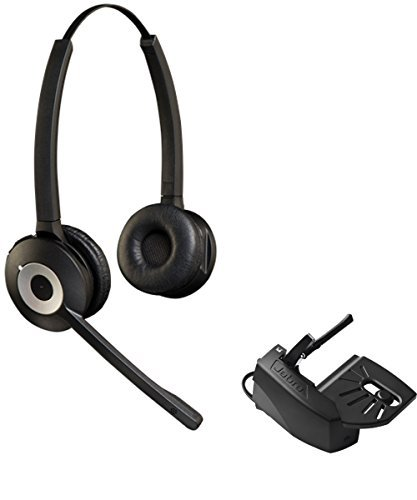 Cisco Compatible Jabra Pro 920 Cordless Headset Bundle with Lifter | Cisco phones: 6945, 7841, 7861, 7962g, 7965g, 7975g, 8811, 8841, 8845, 8851, 8861, 8865 (Duo) by Global Teck Lifter Bundle