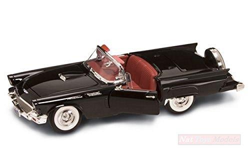 LUCKY DIE CAST LDC92358BK FORD THUNDERBIRD 1957 BLACK 1:18 MODELLINO DIE CAST