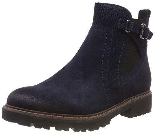 Marco Tozzi Premio Damen 25455-21 Chelsea Boots, Blau (Navy Antic 892), 38 EU (Boots Blau)