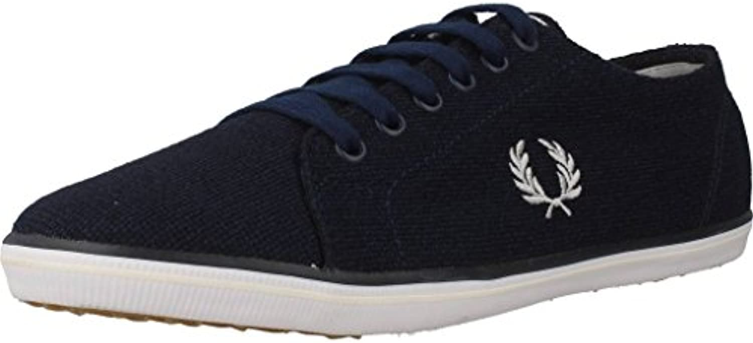 Fred Perry Kingston Jersey Carbon Blue B9094266  Turnschuhe
