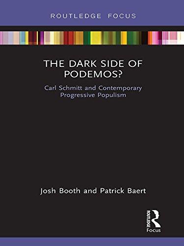 The Dark Side of Podemos?: Carl Schmitt and Contemporary Progressive Populism (Routledge Advances in Sociology) (English Edition) por Josh Booth