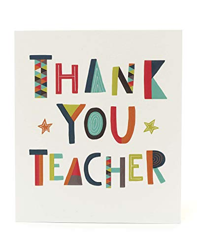 Tarjeta de agradecimiento para profesor