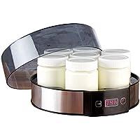 Rosenstein & Söhne Joghurtzubereiter: Joghurt-Maker mit Zeitschaltuhr, 7 Portionsgläser je 190 ml, 20 Watt (Yoghurt Maker)