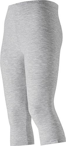 Playshoes Mädchen Legging Capri Oeko-Tex Standard 100, Gr. 104, Grau (grau/melange 37)