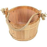 Croll & Denecke - Cubo para sauna (madera, 28 cm de diámetro)