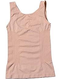 Quge Fajas Reductoras Adelgazantes Camisetas Moldeadora Body Reductor Compresión Lencería para Mujer