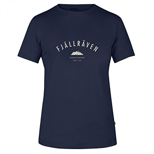 hundeinfo24.de Fjällräven Herren Trekking Equipment T-Shirt, Blau (Dark Navy), M