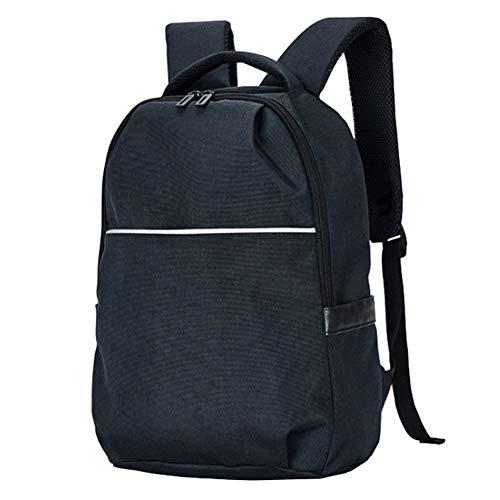 PXYUAN Rucksack, Herrenmode Einfachen Rucksack, Oxford Stoff Wasserdichte Student Tasche, Reise Große Kapazität Computer Tasche
