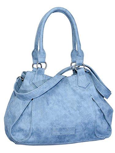Fritzi aus Preußen - Bolso de asas para mujer Azul azul