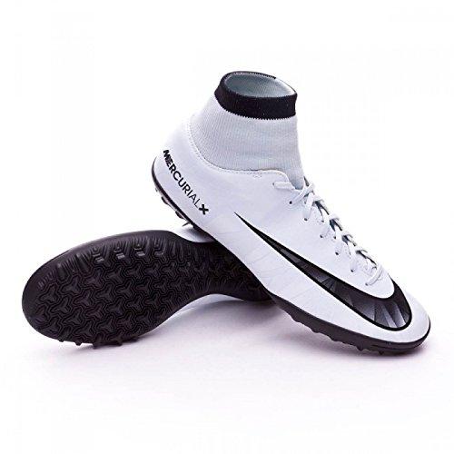Nike Unisex-Kinder Jr MercurialX Vcty 6 CR7 DF TF Fußballschuhe, Blau (Blauton/Schwarz-Weiß-Blauton 401), 38.5 EU (Kinder Sets Jungen Nike)