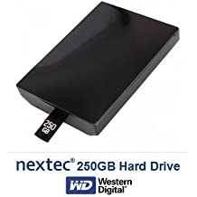 New - Xbox 360 Slim (250 GB) Hard Disk Drive HDD for Microsoft Xbox 360 Slim ...