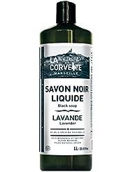 La Corvette Savon Noir Liquide Lavande Ecocert 1 L