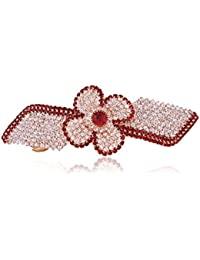 Accessher Designer Studded Back Hair Clip/ Hair Barrette/ Hair Pin Hair Accessories For Women - B074Y6Y6JW