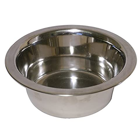 Rosewood Stainless Steel Bowl Deluxe, 9 3/