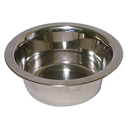 Rosewood Stainless Steel Bowl Deluxe, 8-inch 1
