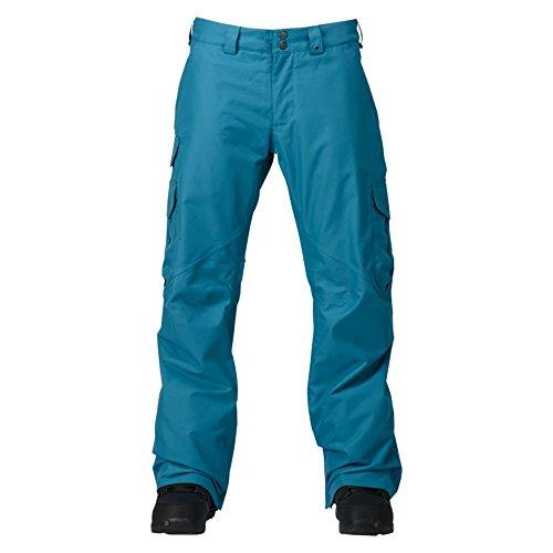 Burton Herren Cargo Pant Mid Snowboardhose, Larkspur, L (Pant Cargo Snowboard)
