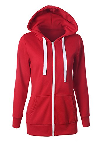 SRQA - Sweat-shirt - Décontracté - Femme red