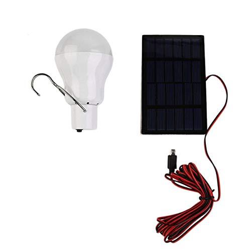 Elviray 15 Watt 150 Tragbare Solar Power LED Lampe Solarbetriebene Licht Aufgeladen Solarenergie Lampe Outdoor Taschenlampe Camp Zelt Angeln Licht -