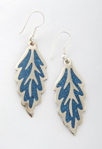tumi-leaf-earrings-crushed-turquoise-blue-fair-trade-hand-made-in-mexico-45mm