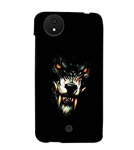 MakeMyCase wolf case For Micromax Android A1