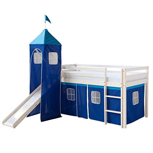 Kinderhochbett mit Rutsche | Info
