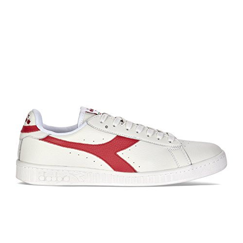 Diadora Game Waxed, Scarpe Low-Top Unisex-Adulto Bianco
