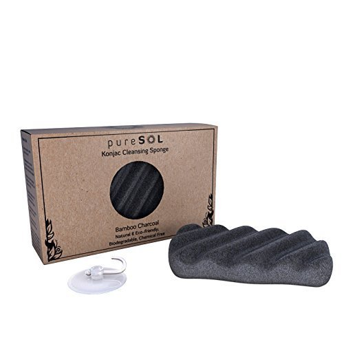 puresol-konjac-sponge-activated-charcoal-body-sponge-gentle-exfoliating-sponge-deep-cleansing-improv