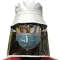 Bageek Visi/ère Bouclier Transparent Anti-gouttelette Visi/ère De Protection Visi/ère Bouclier Visage Bouclier Chapeau